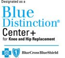 knee and hip replacement bcbs logo