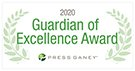 Press Gamey 2020 Guardian of Excellence logo