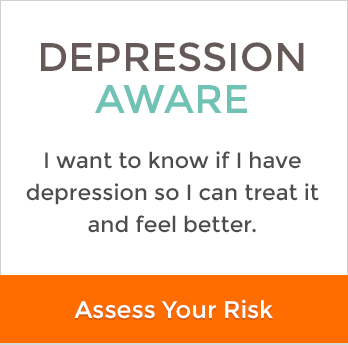depression aware I want to know if I have depression so I can treat it and feel better