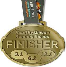 Running Series Medal 2018