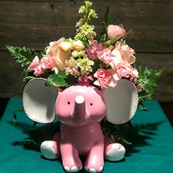 pink-elephant-flower-arrangement