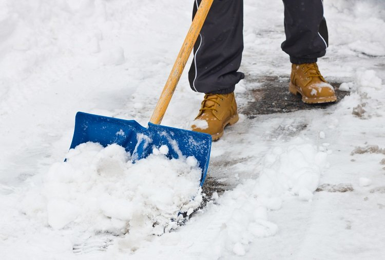 HD Hearts Snow shoveling blog