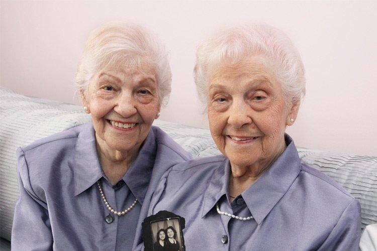 Adult twins photo