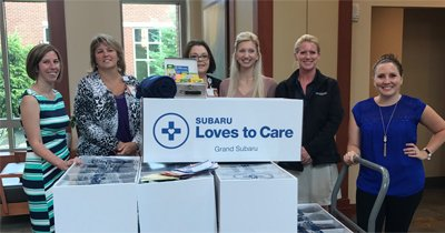 EMH Foundation Subaru Cares Donation