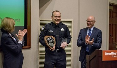 Edward Hospital Law Enforcement Officer of the Year
