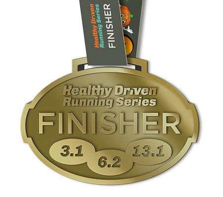 HD Running Series Medal